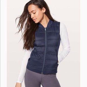 Lululemon Down and Around Vest Size 8